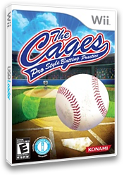 The Cages: Pro Style Batting Practice Wii cover (R8NEA4)