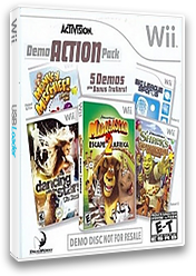 Activision Demo Action Pack (Demo) Wii cover (R9AE52)