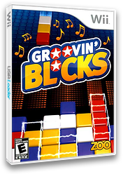 Groovin' Blocks Wii cover (R9KE20)