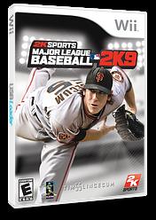 Major League Baseball 2K9 Wii cover (R9ZE54)