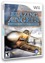 Blazing Angels: Squadrons of WWII Wii cover (RBAE41)