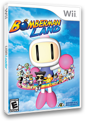 Bomberman Land Wii cover (RBBE18)