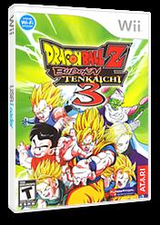 Dragon Ball Z: Budokai Tenkaichi 3 Wii cover (RDSE70)
