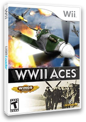 WWII Aces Wii cover (RE3ENR)