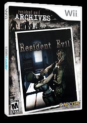 Resident Evil Archives: Resident Evil Wii cover (RE4E08)