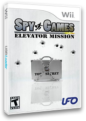 Spy Games: Elevator Mission Wii cover (RECE6K)