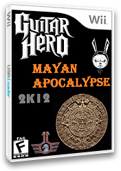 Guitar Hero Mayan Apocalypse CUSTOM cover (RG4E52)