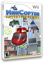 MiniCopter: Adventure Flight Wii cover (RGCEXS)