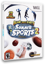 Summer Sports 2: Island Sports Party Wii cover (RI6ENR)