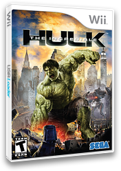 The Incredible Hulk Wii cover (RIHE8P)