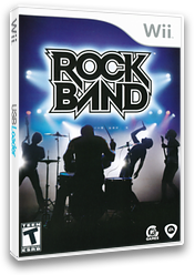 Rock Band Wii cover (RKXE69)