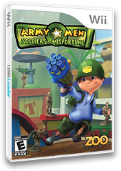 Army Men: Soldiers of Misfortune Wii cover (RKYE20)