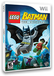 LEGO Batman: The Videogame Wii cover (RLBEWR)
