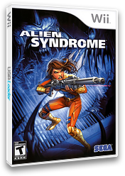 Alien Syndrome Wii cover (RLSE8P)