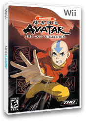 Avatar: The Last Airbender Wii cover (RLVE78)