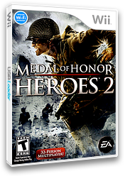 Medal of Honor: Heroes 2 Wii cover (RM2E69)