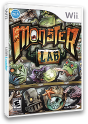 Monster Lab Wii cover (RM7E4F)