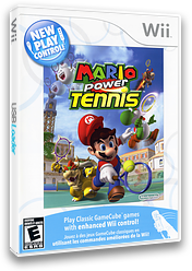 Mario Power Tennis Wii cover (RMAE01)