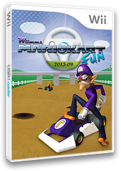 Wiimms MKW Fun 2013-09.ntsc CUSTOM cover (RMCE21)