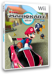 Wiimms MKW-Fun 2015-03.ntsc CUSTOM cover (RMCE27)