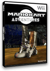 Mario Kart Adventures v0.8 CUSTOM cover (RMCEA1)