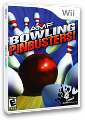 AMF Bowling Pinbusters! Wii cover (RMFE68)