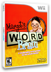 Margot's Word Brain Wii cover (RMIE20)