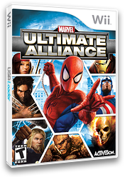 Marvel: Ultimate Alliance Wii cover (RMUE52)