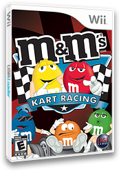 M&M's Kart Racing Wii cover (RMWE20)