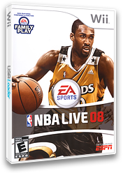NBA Live 08 Wii cover (RNBE69)