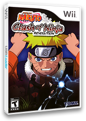 Naruto: Clash of Ninja Revolution Wii cover (RNXEDA)