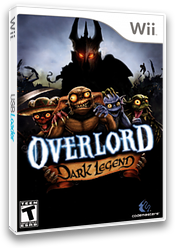 Overlord: Dark Legend Wii cover (ROAE36)