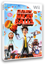 Cloudy with a Chance of Meatballs Wii cover (ROYE41)
