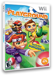 EA Playground Wii cover (RPXE69)