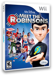 Meet the Robinsons Wii cover (RRSE4Q)