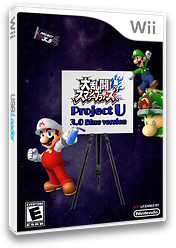 Super Smash Bros. Project U: Blue Version CUSTOM cover (RSBE34)