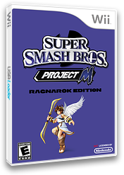 Super Smash Bros. Project M: Ragnarok Edition CUSTOM cover (RSBE40)