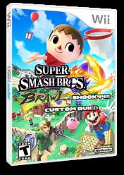 Super Smash Bros. Brawl: Shock44's Custom Build CUSTOM cover (RSBE45)