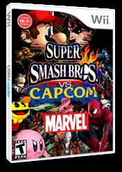 Marvel and Capcom vs Super Smash Bros. CUSTOM cover (RSBEAA)