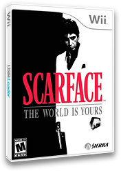 Scarface: The World Is Yours Wii cover (RSCE7D)