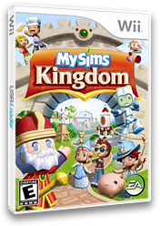 MySims Kingdom Wii cover (RSHE69)