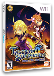 Tales of Symphonia: Dawn of the New World Wii cover (RT4EAF)