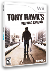 Tony Hawk's Proving Ground Wii cover (RT9E52)