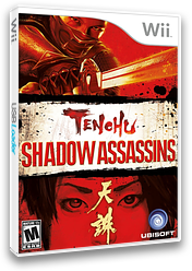 Tenchu: Shadow Assassins Wii cover (RTNE41)
