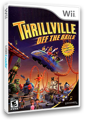 Thrillville: Off the Rails Wii cover (RTVE64)