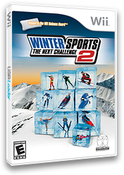 Winter Sports 2: The Next Challenge Wii cover (RU2E5Z)
