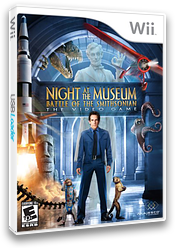 Night at the Museum: Battle of the Smithsonian - The Video Game Wii cover (RU7E5G)
