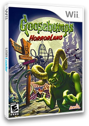 Goosebumps: HorrorLand Wii cover (RUGE7T)