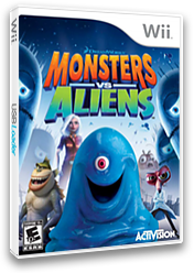 Monsters vs. Aliens Wii cover (RVZE52)