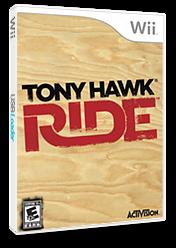Tony Hawk: Ride Wii cover (RX5E52)